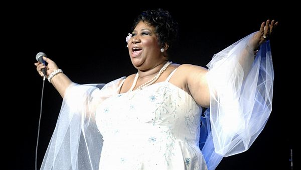 Aretha Franklin v Radio City Music Hall v roce 2008