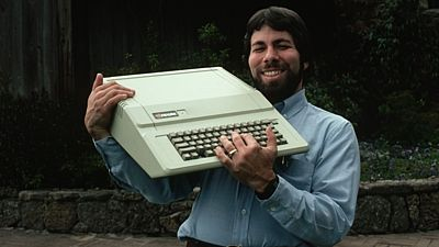 Stewe Wozniak a Apple II